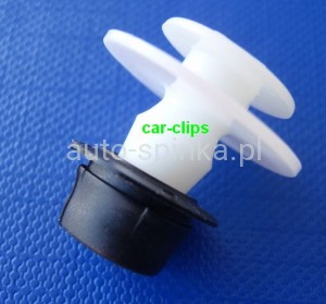 A15814 + 12628 Clip: with bush side molding VW Golf 2 Jetta 2 Passat B3 T4 701853585 357853586D