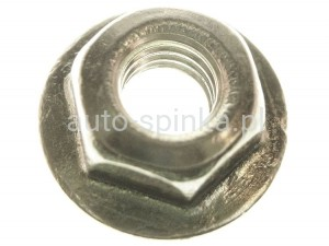 C60603 nut  M6 with flange