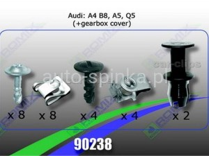 90238 Clip: cover under engine AUDI A4 B8, A5 Q5